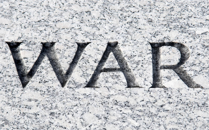 война стоковое изображение rf