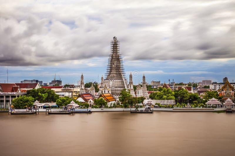 Война Arun в Бангкоке стоковые изображения rf