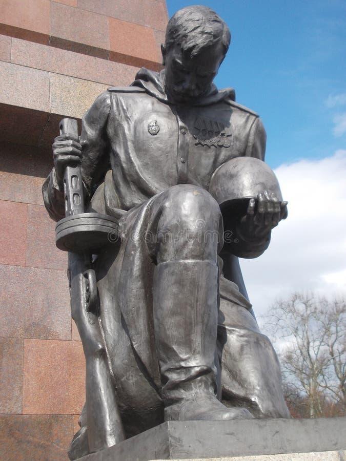 война berlin мемориальное русское стоковые изображения rf