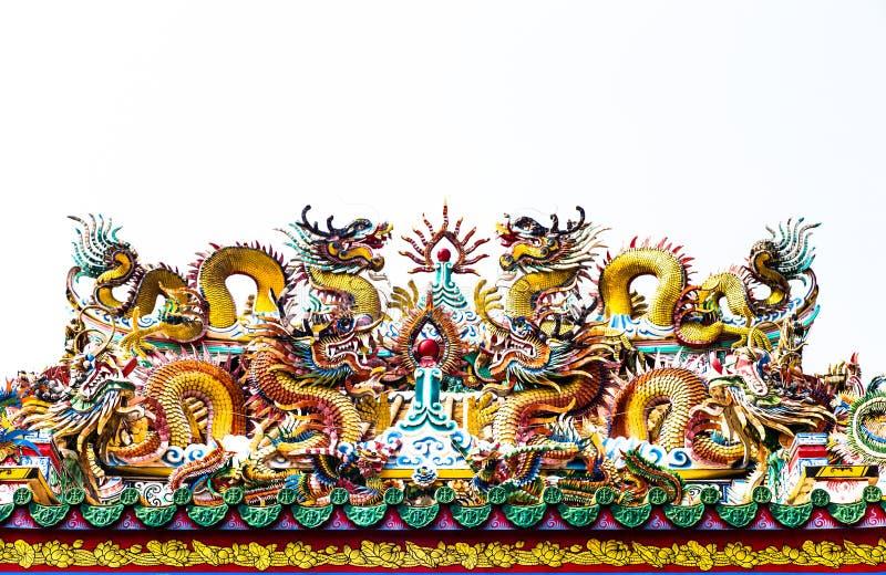 двойной дракон стоковое фото