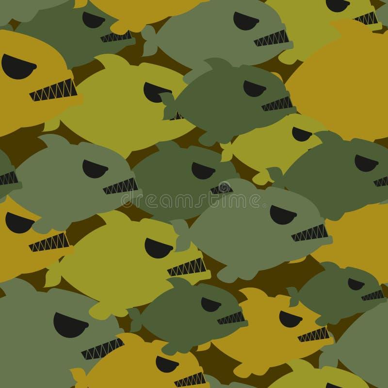 Войска армии камуфлируют от Piranha Защитная текстура для так бесплатная иллюстрация