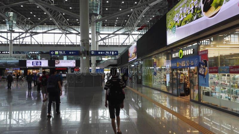 Вокзал Кореи Пусана стоковое изображение rf