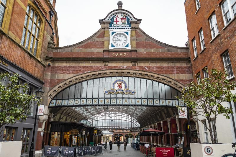 Вокзал торгового центра Виндзор королевский стоковое фото rf