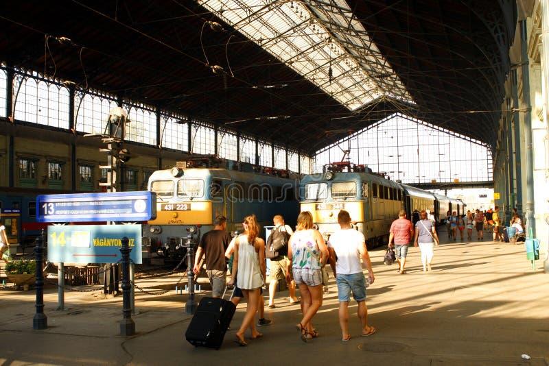 Вокзал Будапешта стоковые изображения rf
