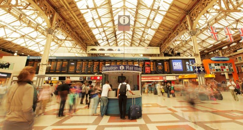 Вокзал Виктории стоковое изображение