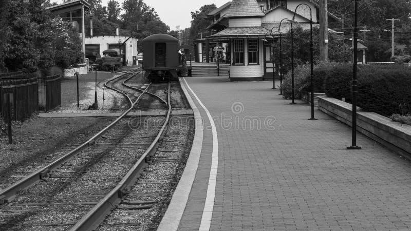 Вокзал в викторианском стиле стоковая фотография