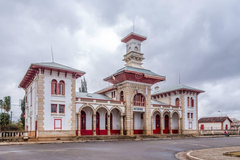 Вокзал в Antsirabe стоковое фото