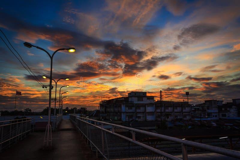 Вокзал Таиланд Surat Thani стоковая фотография