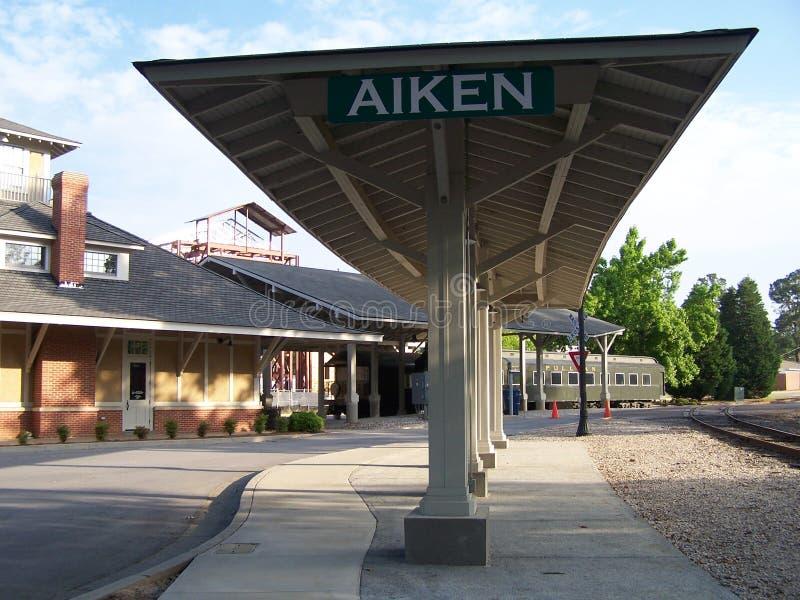 Вокзал Aiken стоковая фотография rf