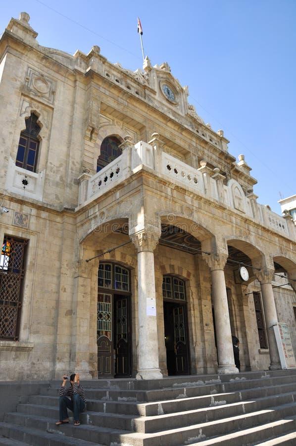 Вокзал Hejaz в Дамаске стоковые фото