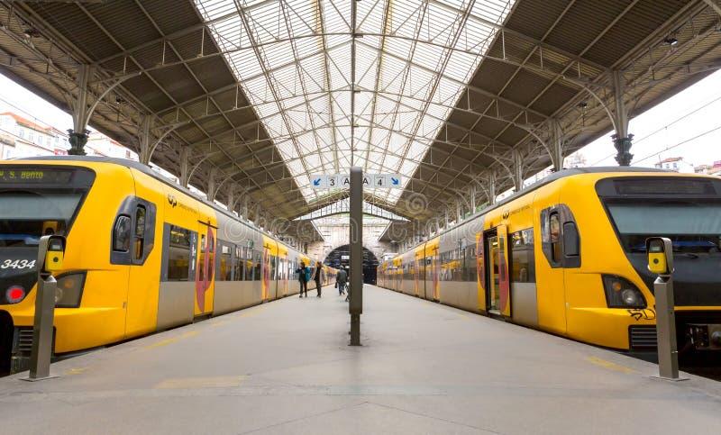 Вокзал Oporto, s Бенто стоковая фотография