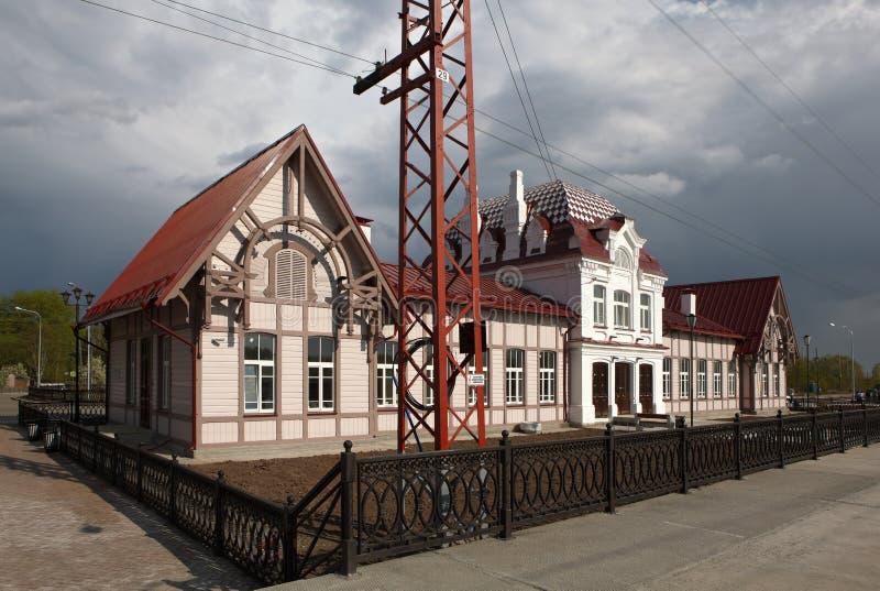 Вокзал Verkhoturye Россия стоковые изображения