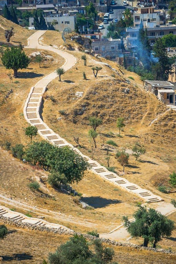 Вокруг Иерусалима стоковое фото rf