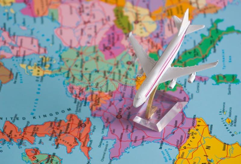 вокруг мира полета стоковые фото