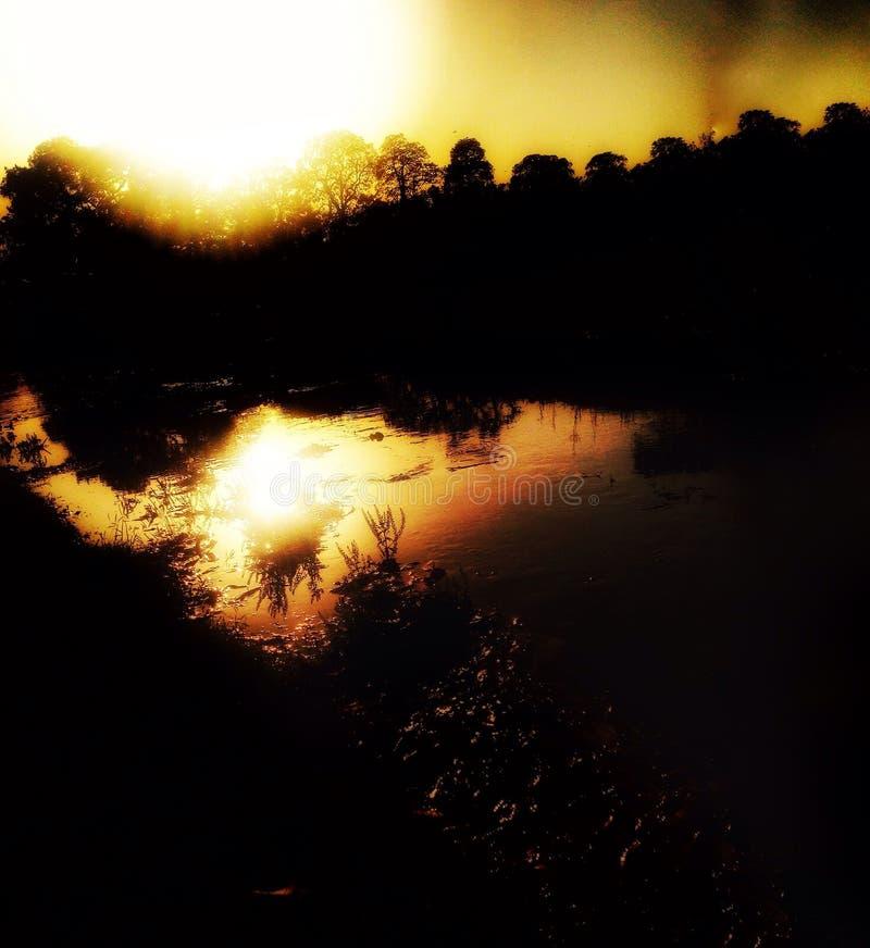 Вокруг озера стоковые фото