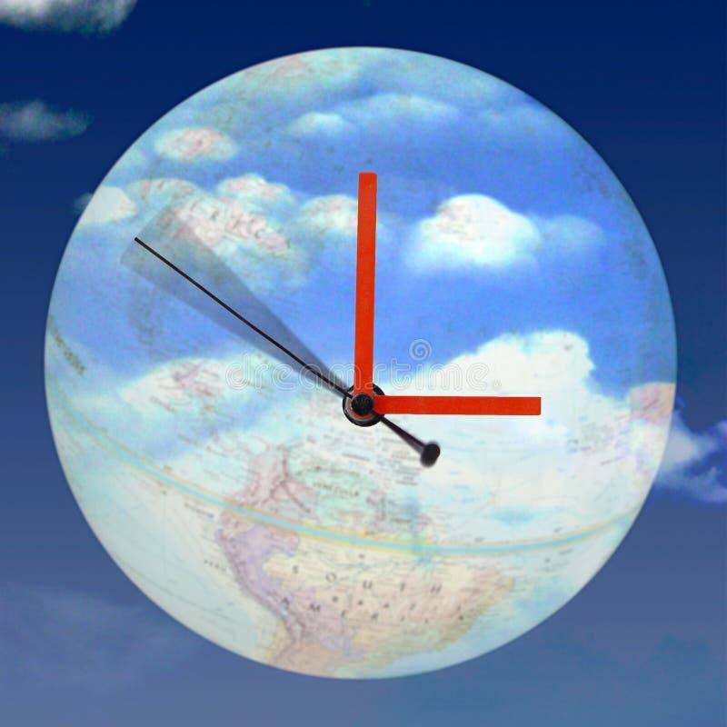 вокруг часов стоковое фото