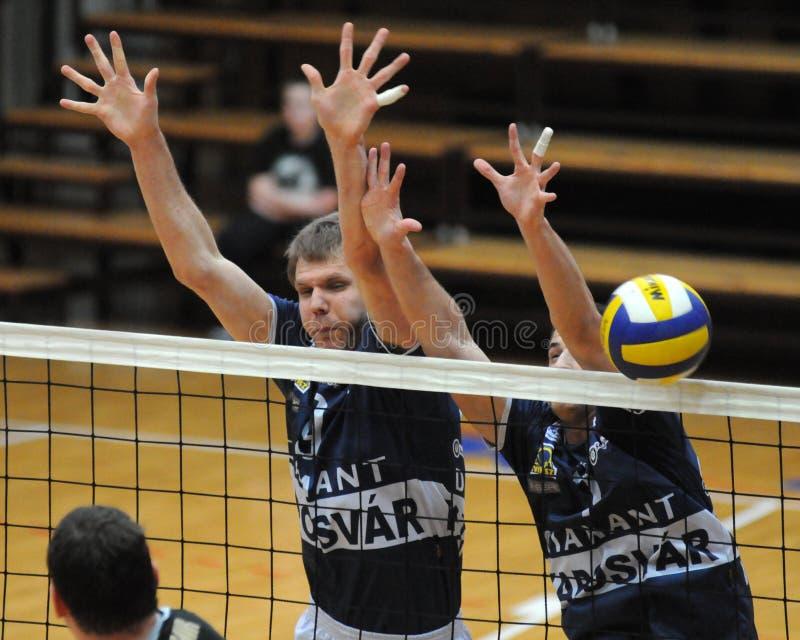 волейбол sobota murska игры kaposvar стоковая фотография