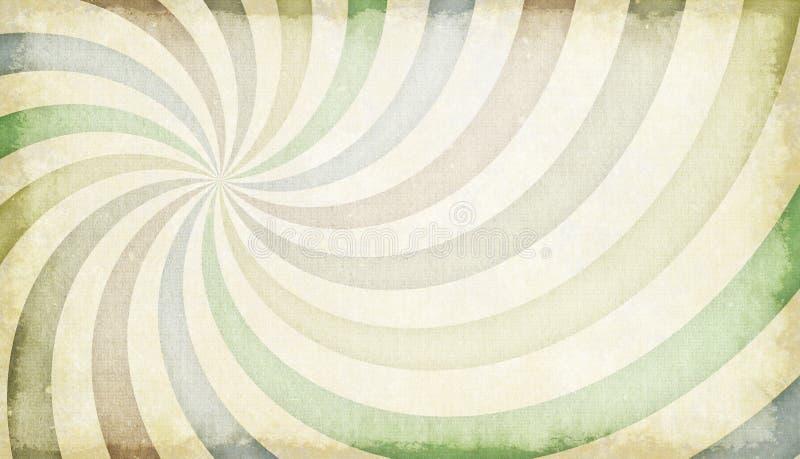 волна абстрактного grunge предпосылки ретро введенная в моду иллюстрация вектора