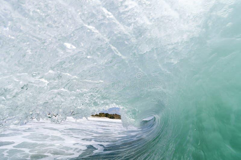 Волна внутрь стоковое изображение rf