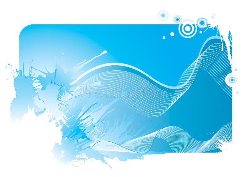 волна выплеска иллюстрация вектора