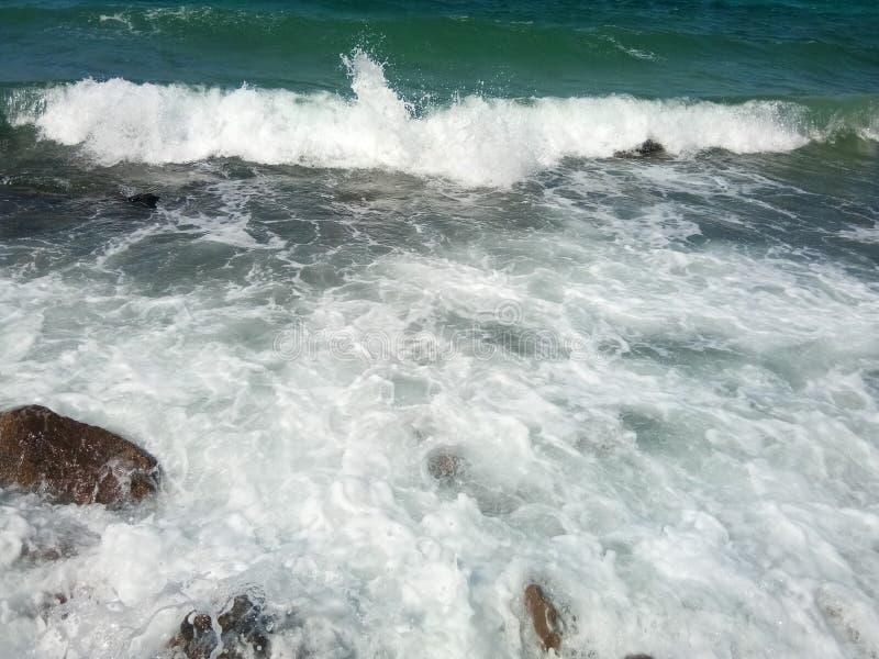 Волна в Таиланде стоковая фотография rf