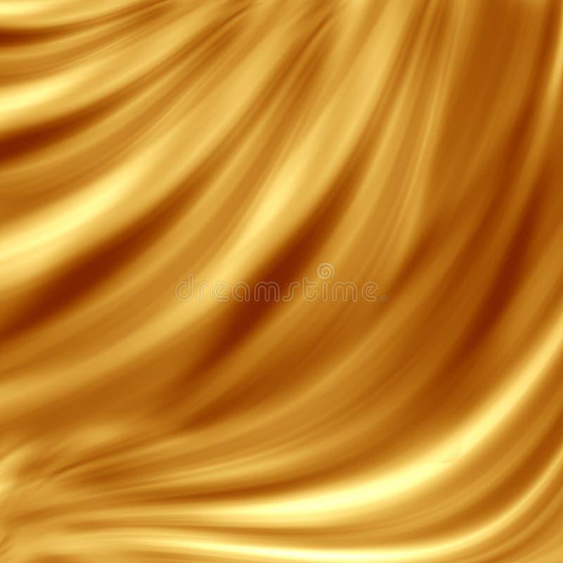 волна конструкции золотистая иллюстрация штока