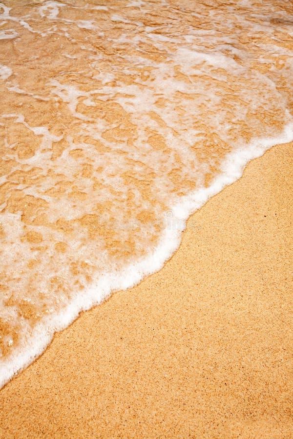 волна песка предпосылки стоковые фотографии rf