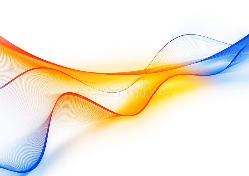 волна цвета иллюстрация вектора