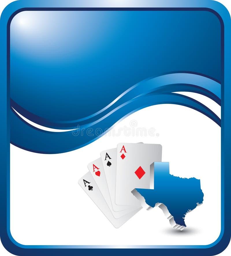 волна texas владением em предпосылки голубая бесплатная иллюстрация