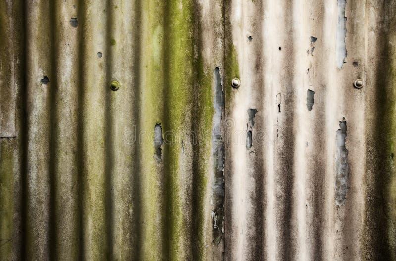 волнистое железо стоковое изображение
