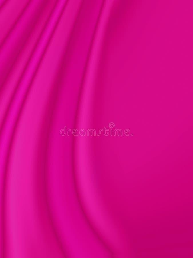 волнистое кривых розовое бесплатная иллюстрация