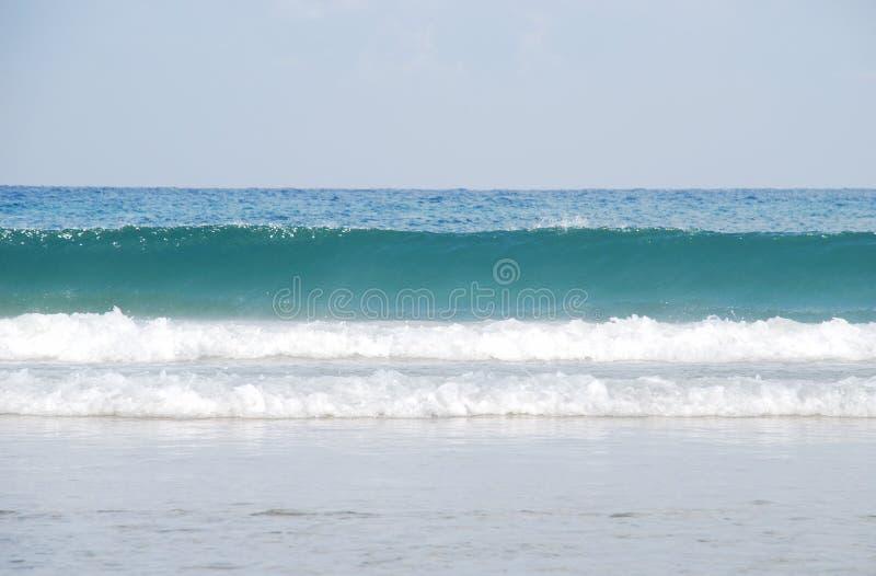 волны горизонта стоковая фотография