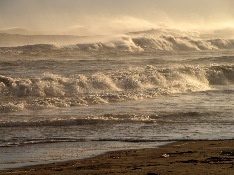 волны гор стоковые изображения rf