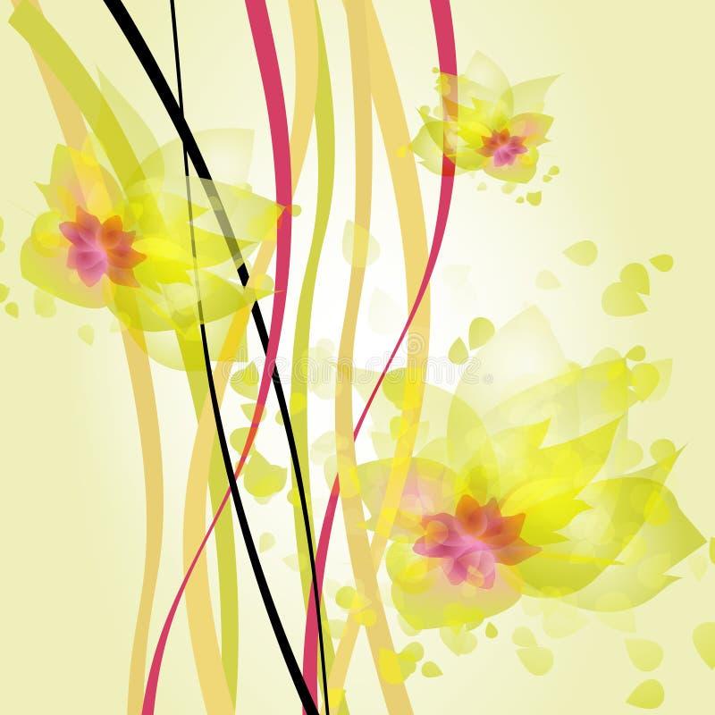 Волны желтого цвета бесплатная иллюстрация