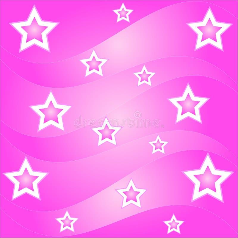 волны звезды иллюстрация вектора