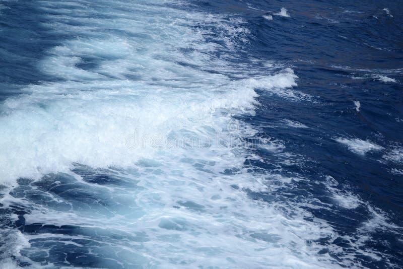волны моря предпосылки голубые естественные стоковые изображения rf