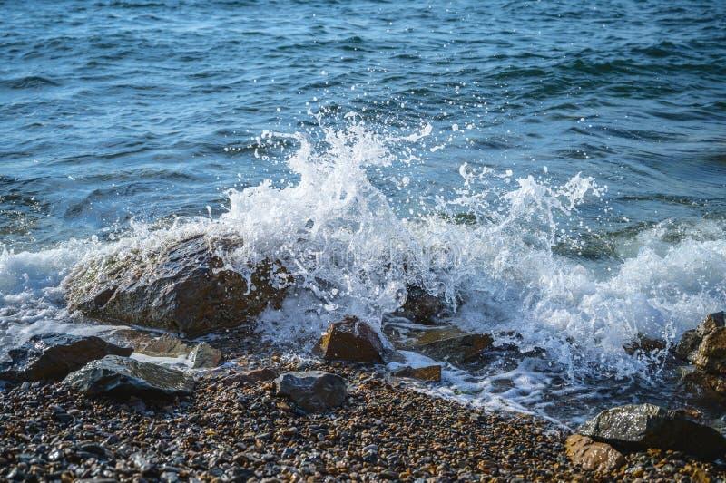 Волны на seashore стоковые фото