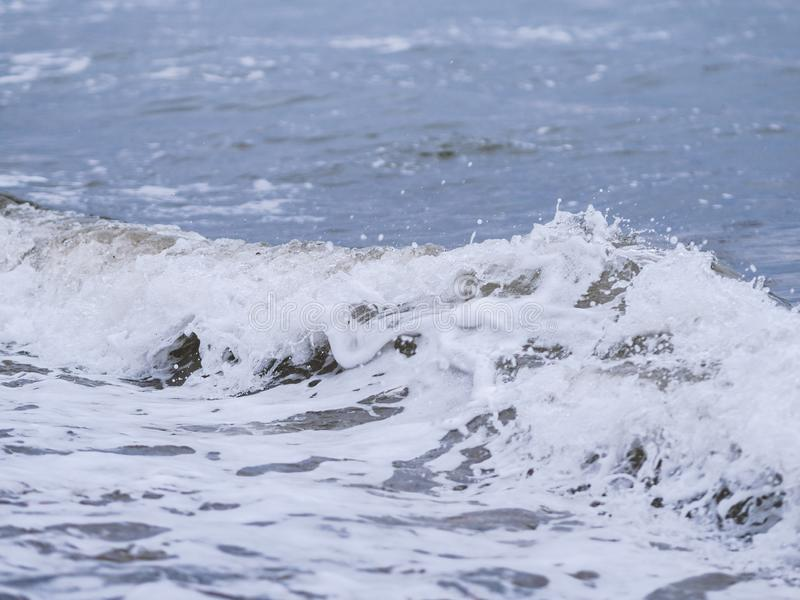 Волны на seashore стоковое изображение