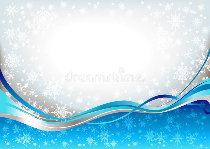 волны снежка предпосылки голубые бесплатная иллюстрация