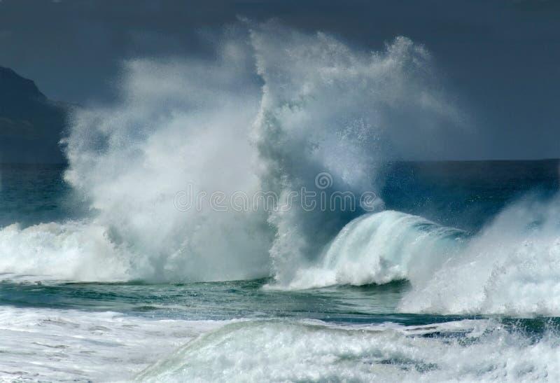 волны стороны стоковое фото