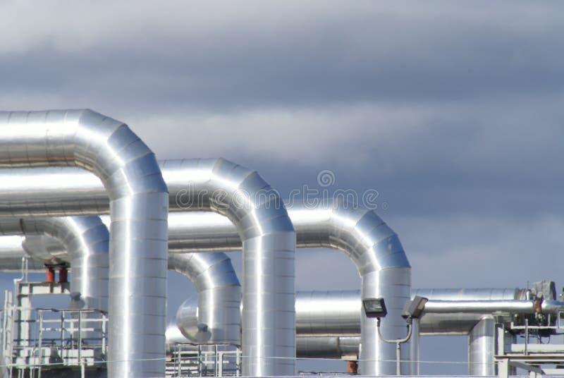 волны тубопровода жары нерезкости стоковые изображения rf