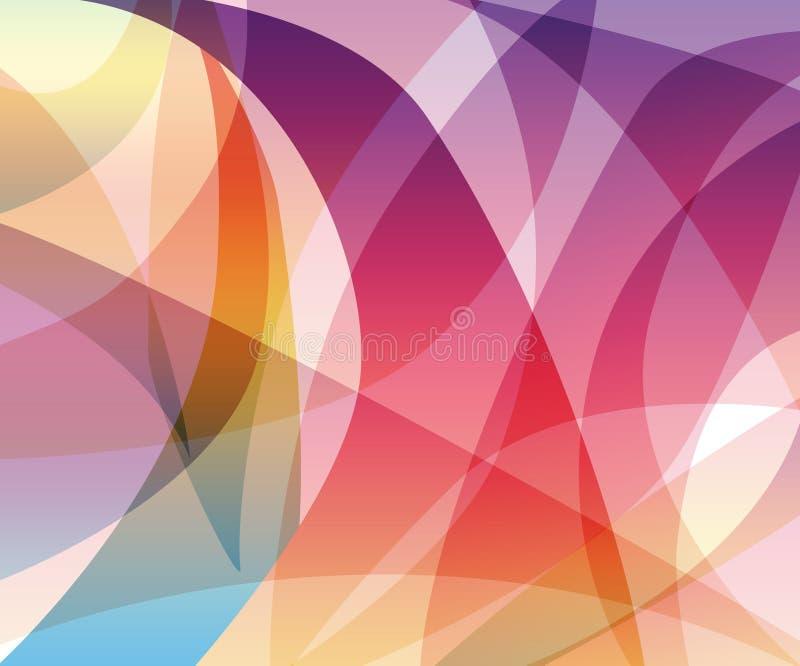 волны цвета иллюстрация вектора