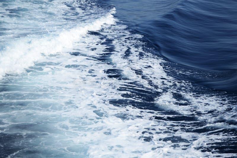 Волны Ionian моря стоковое изображение