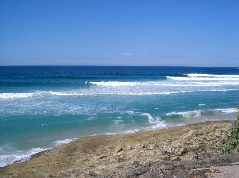 волны stradbroke острова стоковые фото