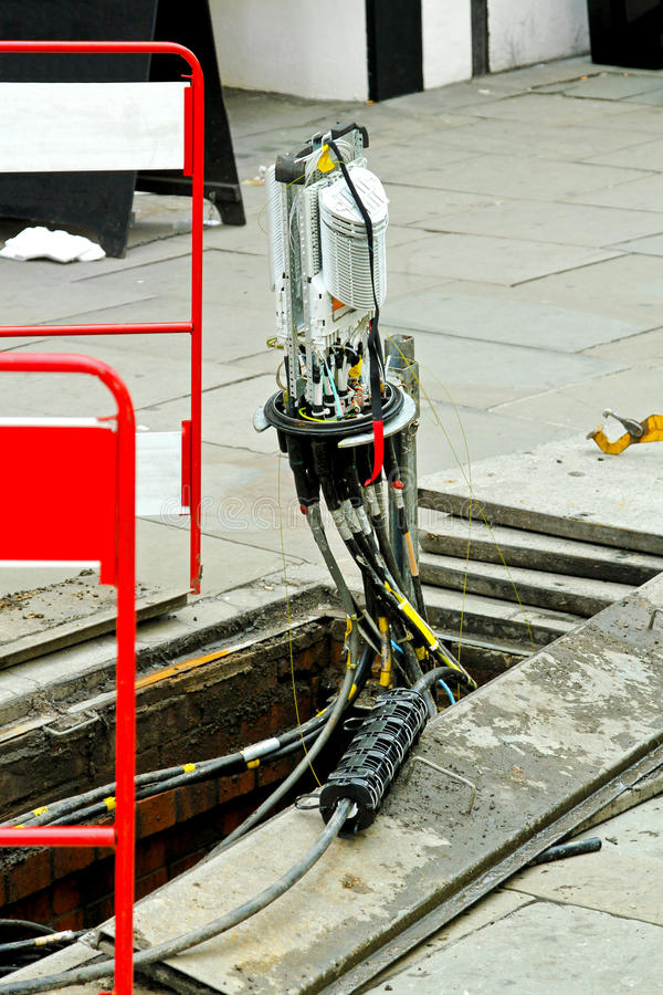 волокно кабеля - оптическое стоковые фотографии rf