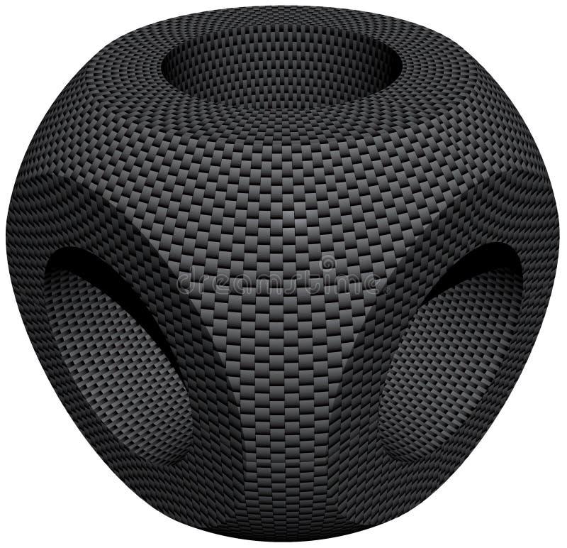 волокно компонента углерода стоковая фотография