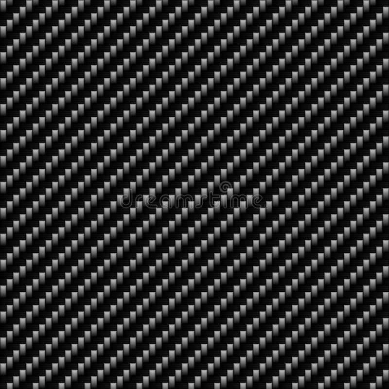 волокно углерода истинное иллюстрация вектора