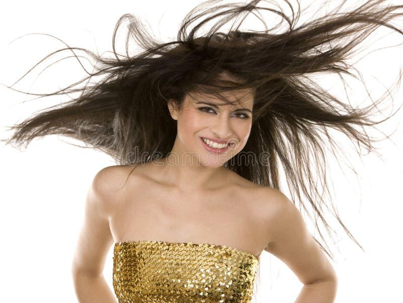 волосы брюнет длинние стоковые фотографии rf