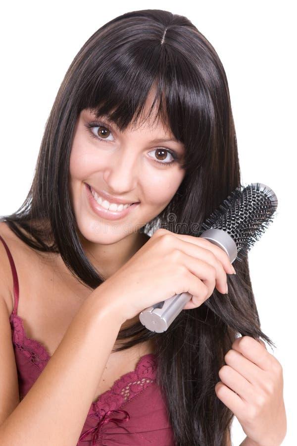 волосы внимательности стоковое изображение