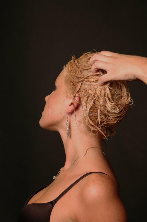 волосы внимательности стоковая фотография rf